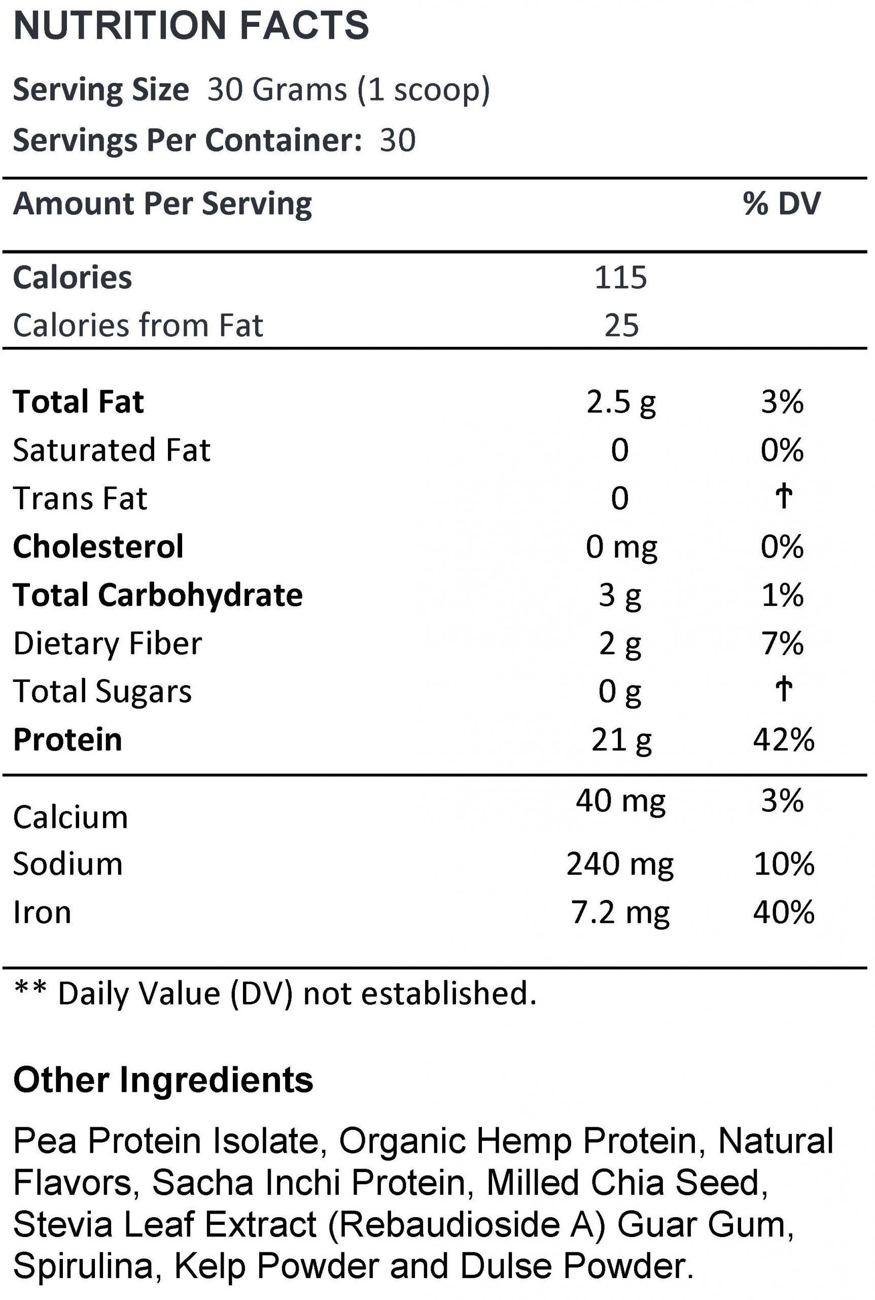 Vegan Protein - Vanilla