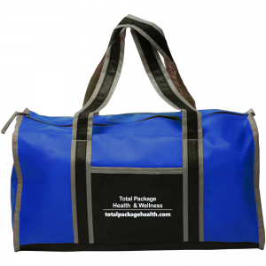 Total package Blue duffle