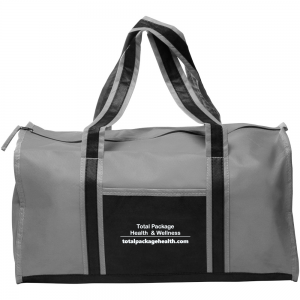 Total package grey duffle
